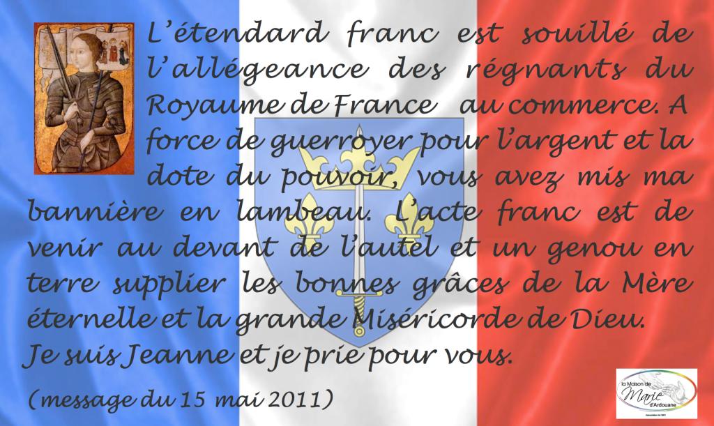 Citation Jeanne d'Arc